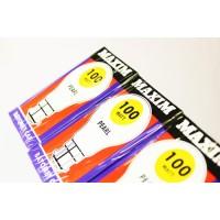 10 PCS OF 100 WATTS MAXIM BAYONET CAP ORIGINAL PEARL LIGHT BULBS