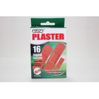 1 PK FABRIC PLASTERS 16 ASSORTED SIZES BREATHABLE COMFORTABLE PROTECTS