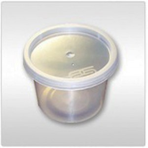 1000 PCS SATCO 2 OZ ROUND FOOD CONTAINERS WITH LIDS FOR CATERING AND RESTAURANTS