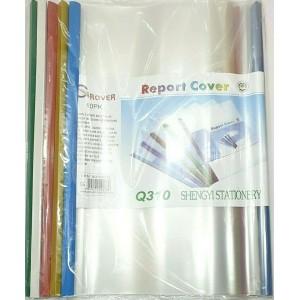 10 PCS A4 REPORT COVER STICK SLIDE PLASTIC FILE