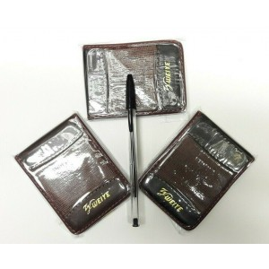 3 PCS POCKET ADDRESS BOOK WITH FREE BIC PEN