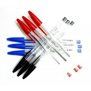 BIC CRISTAL 1.0 MM SMOOTH WRITING BALL POINT PENS