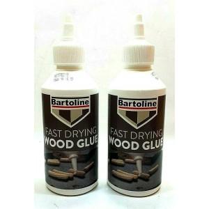 2 PCS BARTOLINE FAST DRY WOOD GLUE 250ML