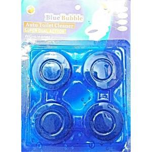 4 PCS BLUE LOO TOILET BLOCK TABLETS DEODORIZE