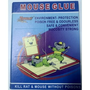 MOUSE GLUE BOOK TRAP STRONG BOARD POISON FREE ODOURLESS SAFE