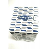 70 PCS BULKY SOFT WHITE CUBE BOXED SLOT TISSUES