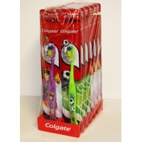 12 PCS COLGATE CHILDREN'S TOOTHBRUSHES EXTRA SOFT