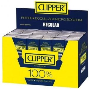 480 PCS (10 X 48 PK) CLIPPER REGULAR FILTERS FOR ROLLING PAPER TIPS