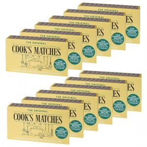 2640 MATCHES STICKS COOK'S KITCHEN MATCHBOX