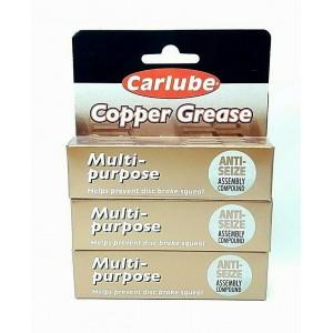 3 PCS CARLUBE COPPER 20G MULTI PURPOSE GREASE