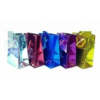 """12 PCS ASSORTED GIFT BAGS 17"""" X 21"""" HOLOGRAPHIC"""