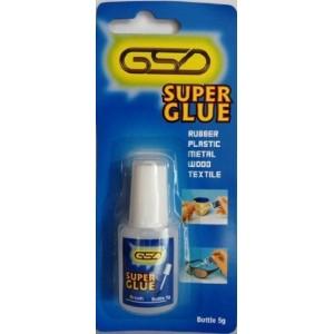 GSD BOTTLE SUPER GLUE 5G BRUSH ADHESIVE