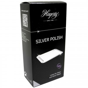 1 HAGERTY SILVER 100ML POLISH JEWELLERY WATCH