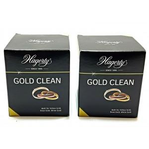 2 PCS HAGERTY GOLD CLEAN DIP BATH POLISH 170ML