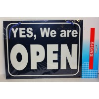 OPEN/CLOSED SIGN FOR SHOPS BUSINESS PREMISES