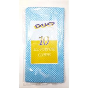 10 PCS ALL PURPOSE J - CLOTH