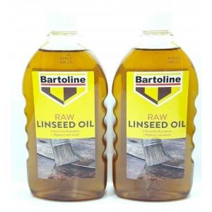 2 RAW LINSEED OIL WOOD FURNITURE STONE NOURISH