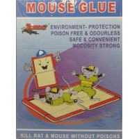 1 PACK RAT MOUSE GLUE BOOK TRAP POISON FREE