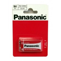 1 PC PP3 PANASONIC 9V ZINC CARBON BATTERY 6F22