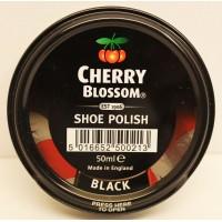 CHERRY BLOSSOM SHOE POLISH PASTE 50ML ORIGINAL BLACK