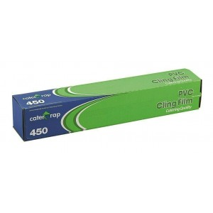 CATER WRAP PVC CLING FILM 450MM X 300M CATERING