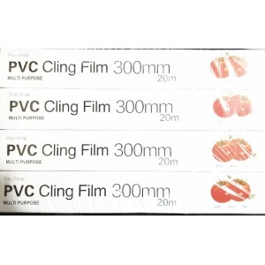 240M POLY WRAP PVC CLING FILM 300MM CATERING