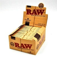 768 PCS RAW CLASSIC UNREFINED ROLLING PAPERS + FILTER TIPS