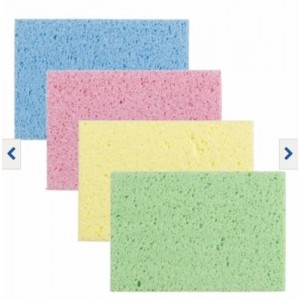 3 PCS SPONGE CLEANING WIPES CELLULOSE CLOTHS