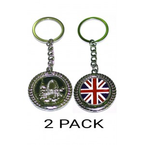2 PCS LONDON ENGLAND UK NOVELTY EYE SOUVENIER