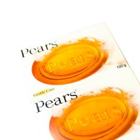 12 PCS PEARS TRANSPARENT 125 GM SOAP GENTLE CARE