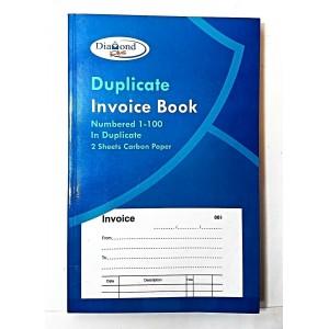 "INVOICE BOOK DUPLICATE 8"" SALES ORDER 1-100 RECEIPT"