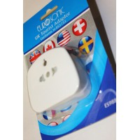 UK TOURIST ADAPTORS ORIGINAL EURO SONIC