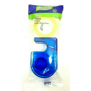 1 PACK ULTRATAPE WITH DISPENSER CLEAR TAPE ROLL