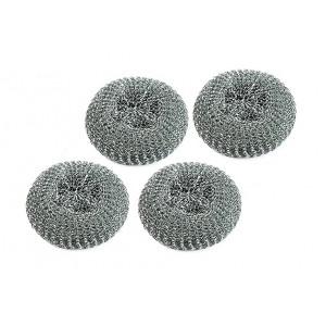 400 LARGE STEEL SCOURERS TOUGH CLEANING WASHING