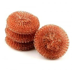 400 X COPPER TOUGH LARGE SCOURERS WASH CLEAN